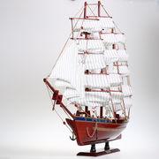 Корабль деревянный парусник